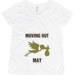 Moving out may