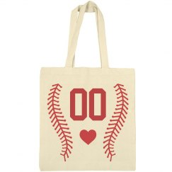 Softball Mom Player Number