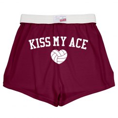 Kiss My Ace Volleyball Wordplay Pants