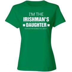 Irishman's Daughter shirt