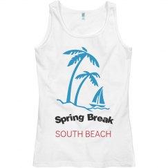 spring break south beach