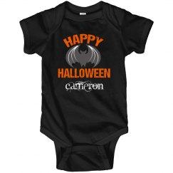 Happy Halloween Bat Custom