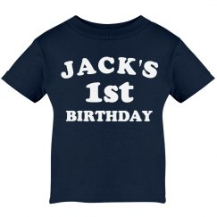 Jack's 1st Birthday