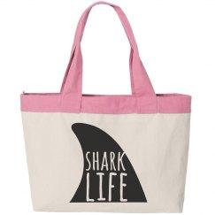 Shark Life Beach Bag