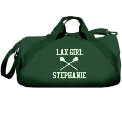 Custom Lax Girl Duffel Bag