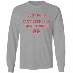 birthday #80, not calm