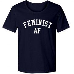 Navy Feminist AF