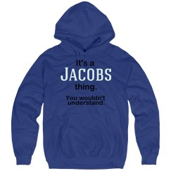 Its a Jacobs thing