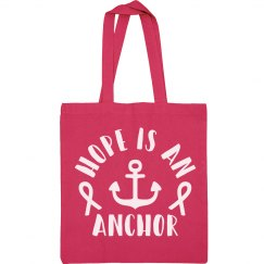 Mermaids for a Cure Drawstring Bag