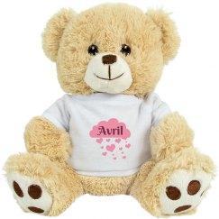Avril valentine Bear