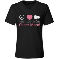 Rhinestone Cheer Mom