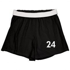 Youth Cheer Short w/#