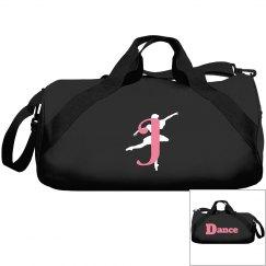 Monogrammed J dance bag