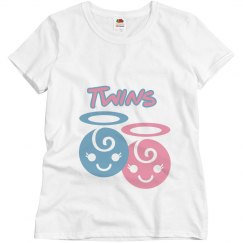 Twins MaternityT-Shirt