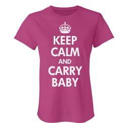 Keep Calm & Carry Baby