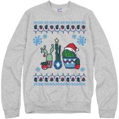 Christmas Cacti Sweater