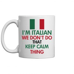 I'M ITALIAN COFFEE