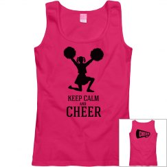 Keep calm and cheer