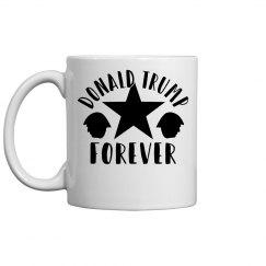 DONALD TRUMP FOREVER COFFEE MUG
