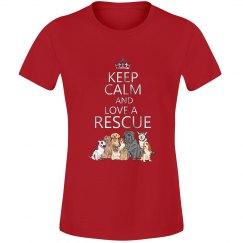 Keep Calm & Love a Rescue