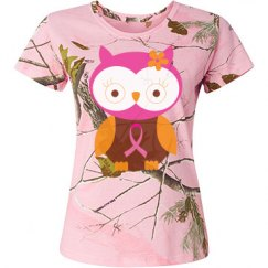 Breast Cancer Pink Owl