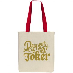 Property of Joker Candy Bag