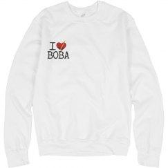 I Luv Boba Sweatshirt