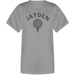 Jayden's Golf Shirt
