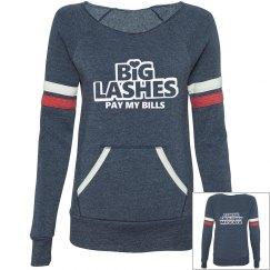 Big lashes pay my bills Tshirt