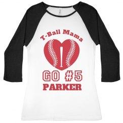 T-Ball Sports Mama Pride