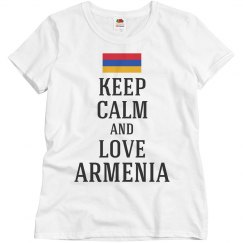 Keep calm love Armenia