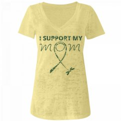 I Support My Mom - Teal