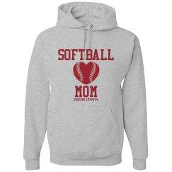 Softball Mom Hoodie