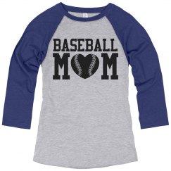 Baseball Mom Fan Jersey