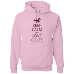 Keep calm love colts