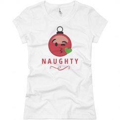 Naughty Nice Matching Pajamas 1