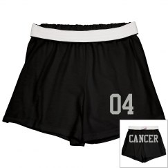 Cancer Sporty Zodiac Cheer Short