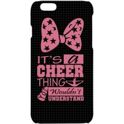 It's A Cheer Thing iPhone case