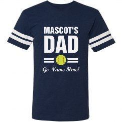 Custom Softball Team Dad
