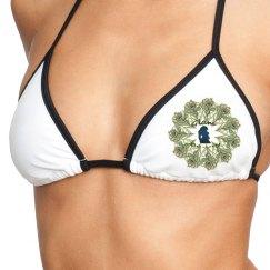 GB Peacock Bikini top