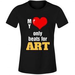 Heart beats for Art