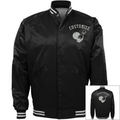 Personalized Bowlers Bomber Jacket