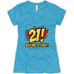 Comic 21st Birthday Shirt