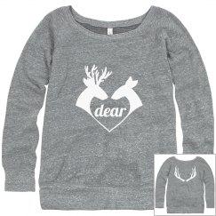 """""""Dear"""" sweatshirt"""