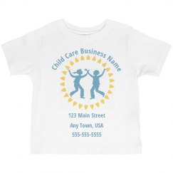 Custom Toddler Childcare Tshirts