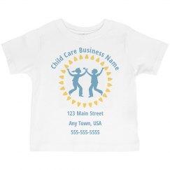 Custom Toddler Childcare Tshirts