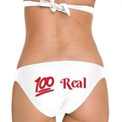 100 real bikini bottoms
