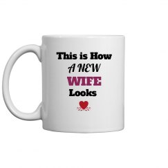 How new wife looks