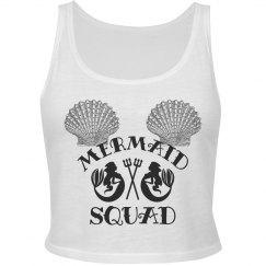 Mermaid Squad Crop