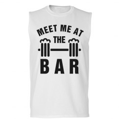Meet Me At The Bar Muscles Beer